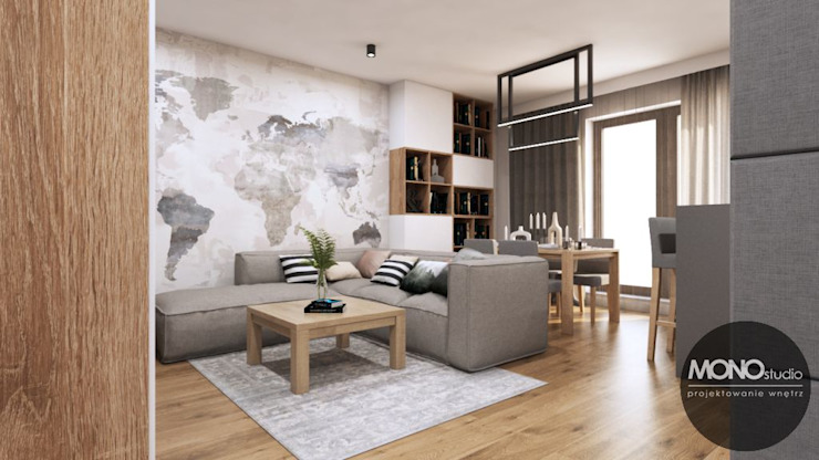 Livings de estilo moderno de MONOstudio Moderno