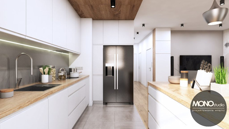 Cocinas de estilo moderno de MONOstudio Moderno