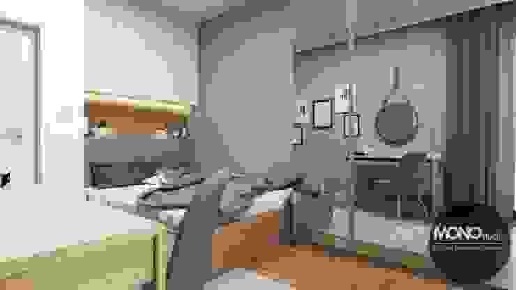 Dormitorios de estilo moderno de MONOstudio Moderno