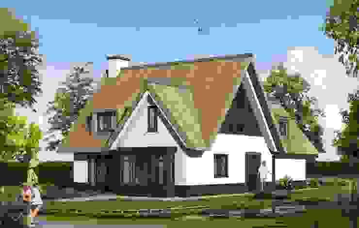 Landelijk moderne woning Landelijke huizen van Brand I BBA Architecten Landelijk