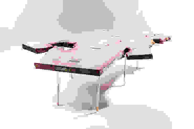 Live edge coffee table: modern  by Egg Designs CC, Modern Wood Wood effect