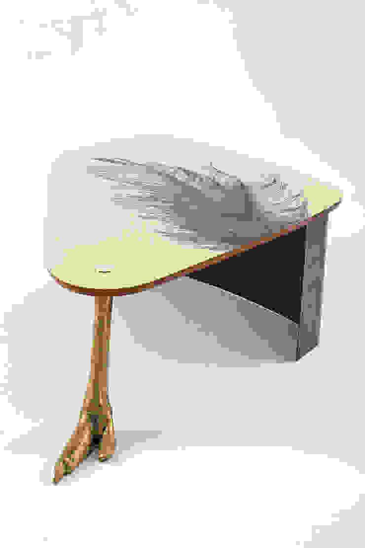 Ostrich Leg coffee table: modern  by Egg Designs CC, Modern Copper/Bronze/Brass