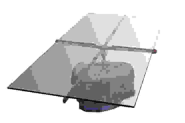 Stone coffee table: modern  by Egg Designs CC, Modern Stone