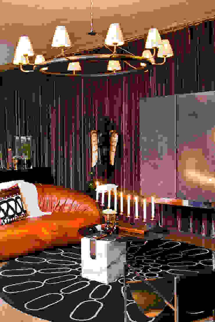 Interior spaces Modern living room by Egg Designs CC Modern Copper/Bronze/Brass
