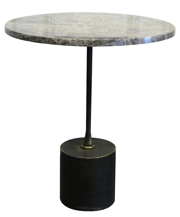 Cox side table: modern  by Egg Designs CC, Modern Marble