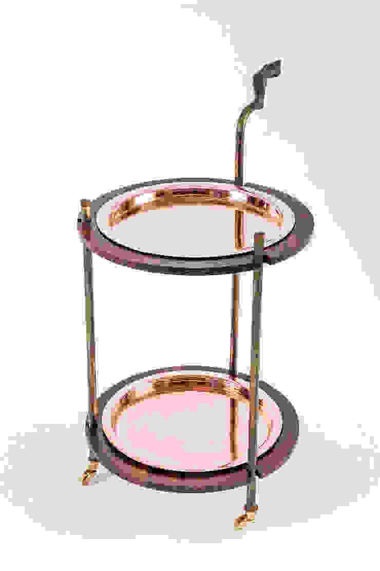 Gizelle Drinks trolley: modern  by Egg Designs CC, Modern Copper/Bronze/Brass