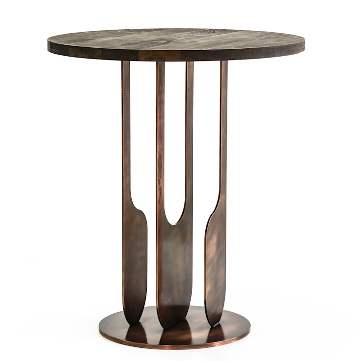 Drop side table: modern  by Egg Designs CC, Modern Wood Wood effect