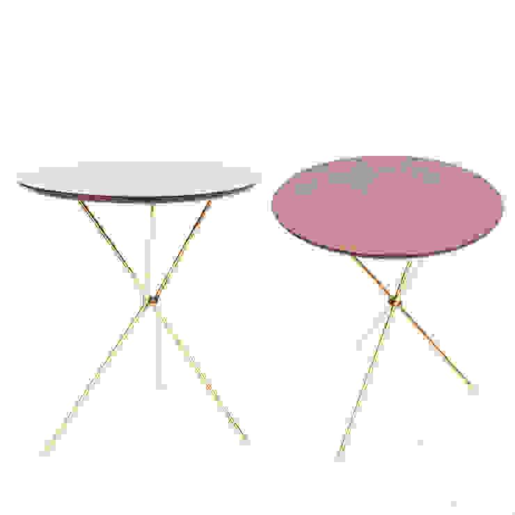 Tripod side table: modern  by Egg Designs CC, Modern Wood Wood effect