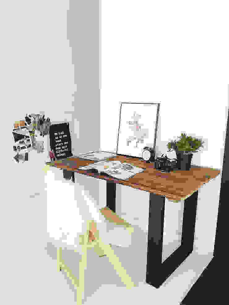 Scandinavian style study/office by Wichaister Scandinavian