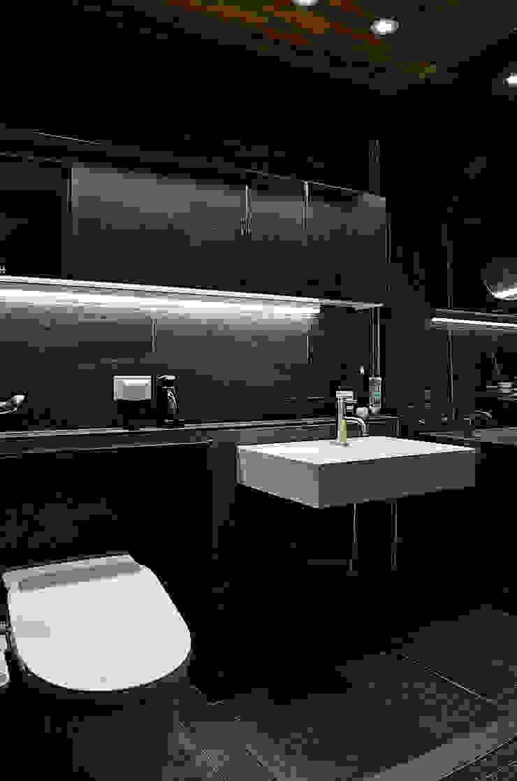 금호동 래미안 하이리버 45평 인테리어 모던스타일 욕실 by 더블류스페이스 모던