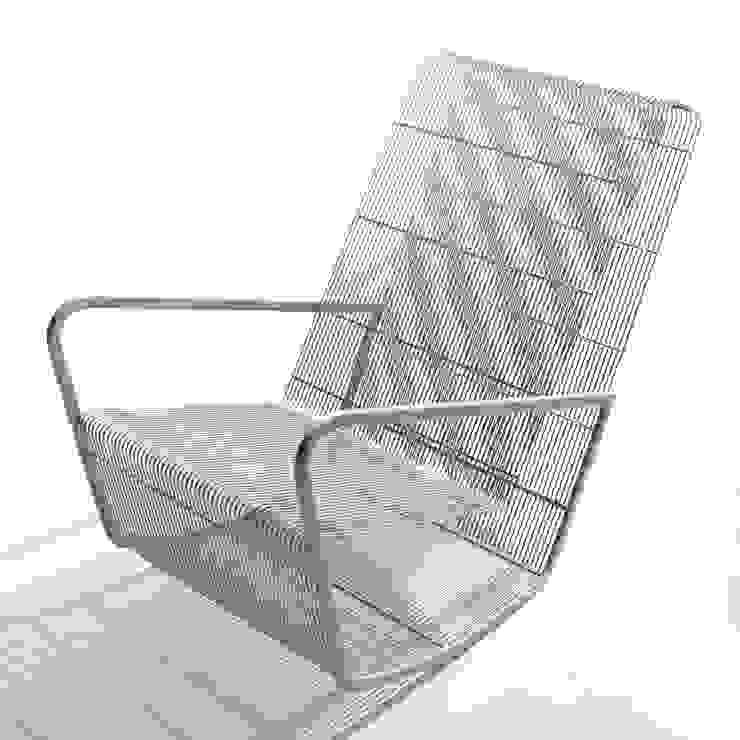 Wire rocker: modern  by Egg Designs CC, Modern Iron/Steel