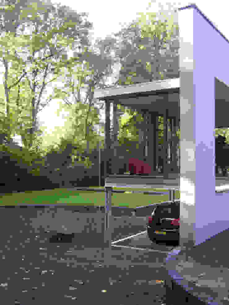 Woonhuis uitbreiding Oosterbeek Industriële woonkamers van Maartje Kaper Architecte BNA Industrieel IJzer / Staal