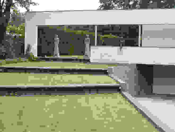 facelift woning Doetinchem Moderne tuinen van Maartje Kaper Architecte BNA Modern Steen