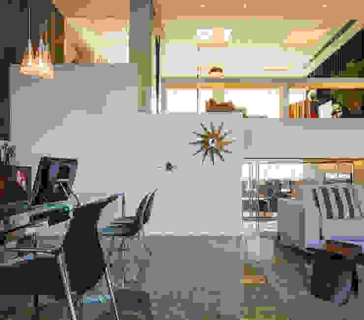 INAIN Showoom Porto Modern Corridor, Hallway and Staircase by INAIN Interior Design Modern