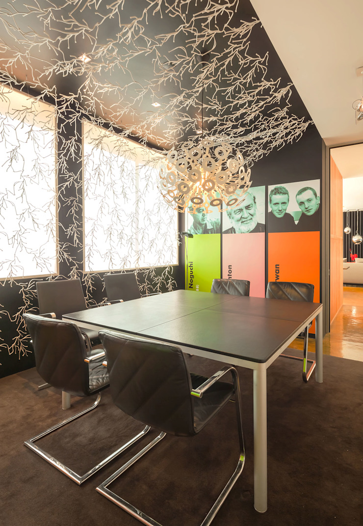 INAIN Showoom Porto Modern Study Room and Home Office by INAIN Interior Design Modern