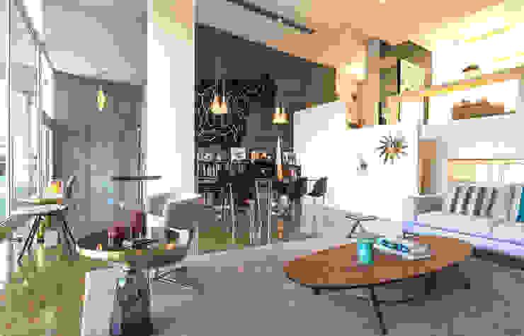 INAIN Showoom Porto Modern Living Room by INAIN Interior Design Modern