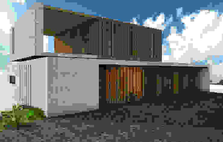 Casa Miravalle Buga: Casas de estilo  por COLECTIVO CREATIVO, Moderno Madera Acabado en madera