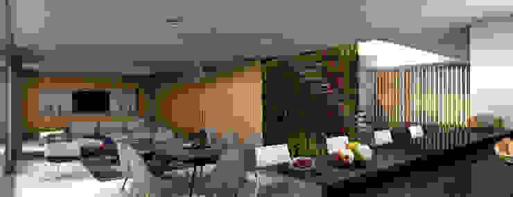 Casa Miravalle Buga Comedores de estilo moderno de COLECTIVO CREATIVO Moderno