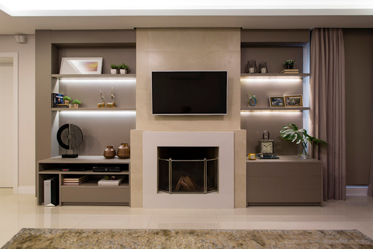 Modern living room by Join Arquitetura e Interiores Modern