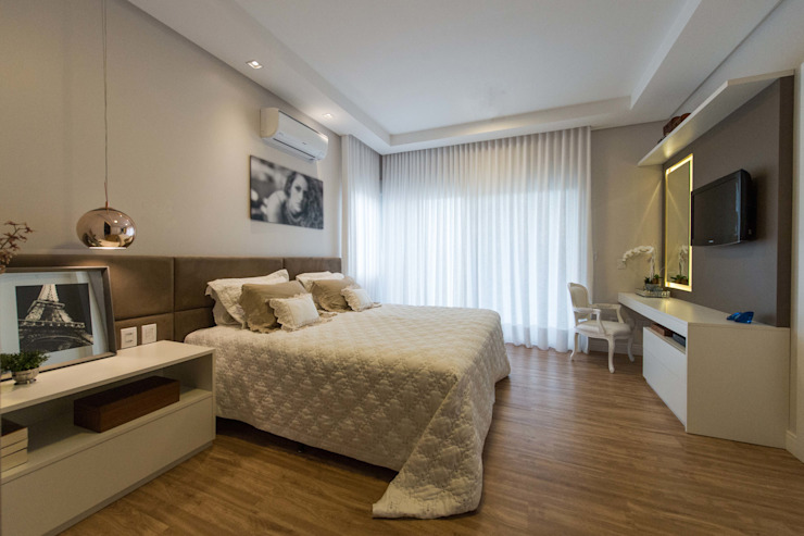Modern style bedroom by Join Arquitetura e Interiores Modern