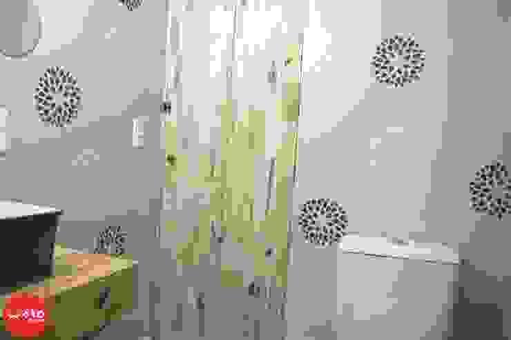 WAKO Design de Interiores Baños de estilo ecléctico