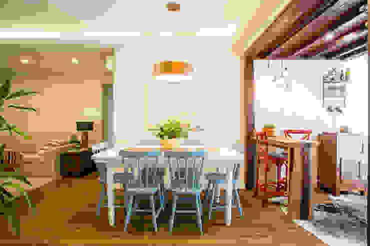 Rustik Yemek Odası Join Arquitetura e Interiores Rustik