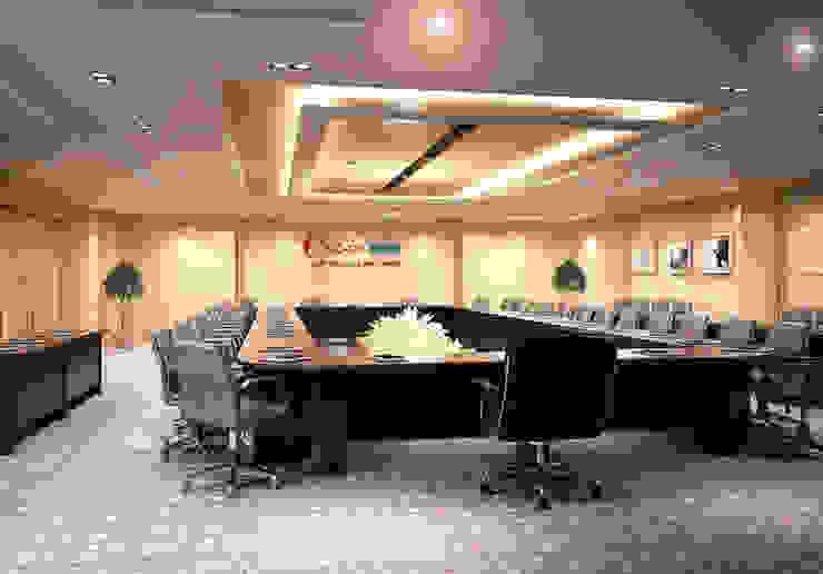 Thiết kế thi công nội thất văn phòng ngân Hàng Co-op Bank: hiện đại  by Nội Thất TNC, Hiện đại