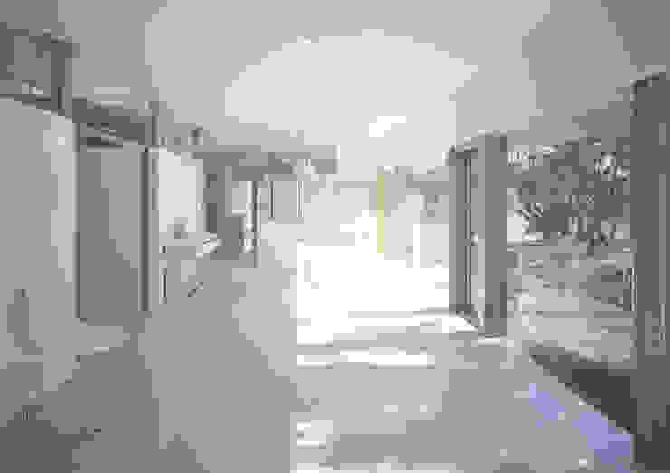 伊集院の住宅 II モダンデザインの リビング の アトリエ環 建築設計事務所 モダン