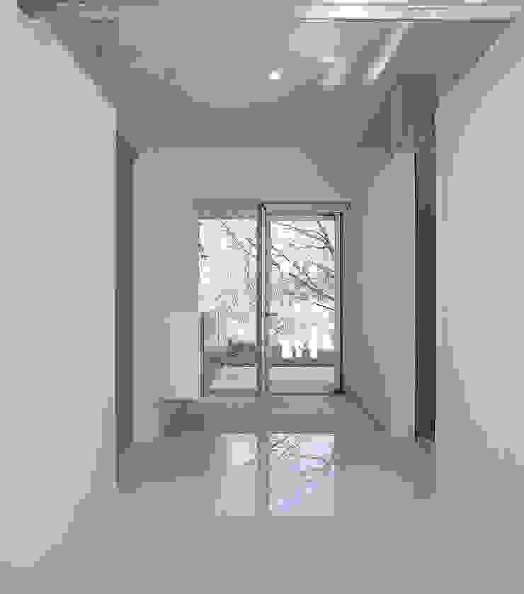 伊集院の住宅 II モダンスタイルの 玄関&廊下&階段 の アトリエ環 建築設計事務所 モダン