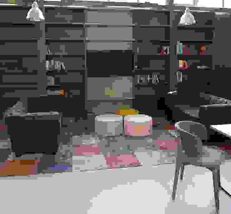 bibliotheek en maatwerk van onze meubelmakers van AID Interieur Architecten Eclectisch
