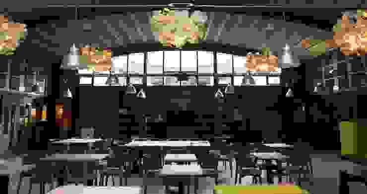 akoestische lampen van green furniture van AID Interieur Architecten Eclectisch