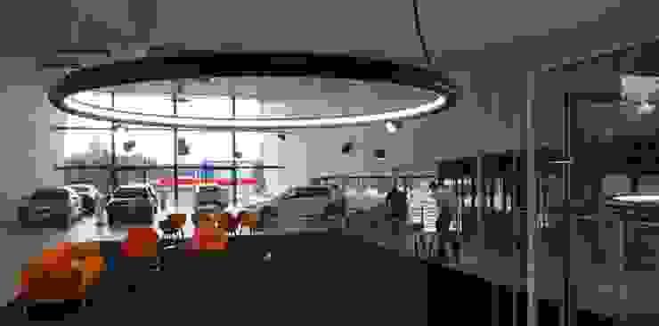 overzicht 1 Eclectische autodealers van AID Interieur Architecten Eclectisch