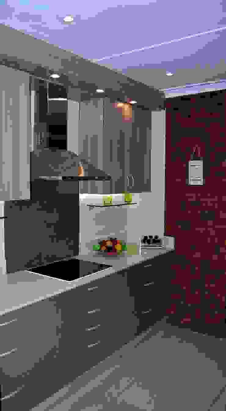 Showroom Revamp Modern kitchen by Capital Kitchens cc Modern Wood Wood effect