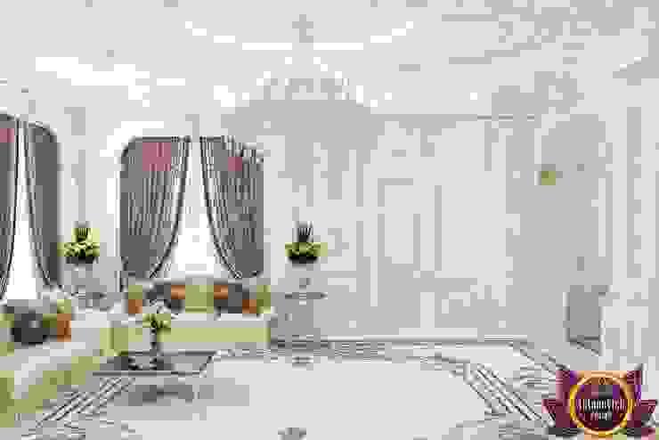 Pasillos, vestíbulos y escaleras de estilo clásico de Luxury Antonovich Design Clásico