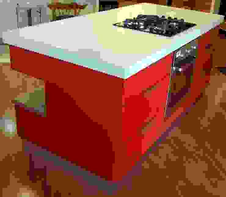 Showroom Revamp Modern kitchen by Capital Kitchens cc Modern MDF
