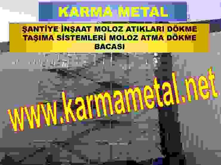 KARMA METAL-MOLOZ ATMA DOKME BACASI BOSALTMA KULESI MOLOZ SUTU IMALATI KARMA METAL