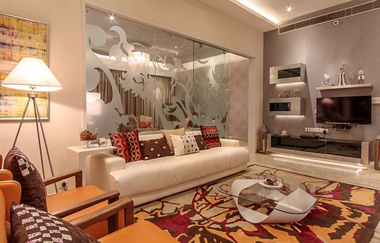 Modern living room by Zeba India Pvt. Ltd. Modern
