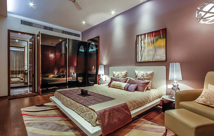 Home projects Modern style bedroom by Zeba India Pvt. Ltd. Modern