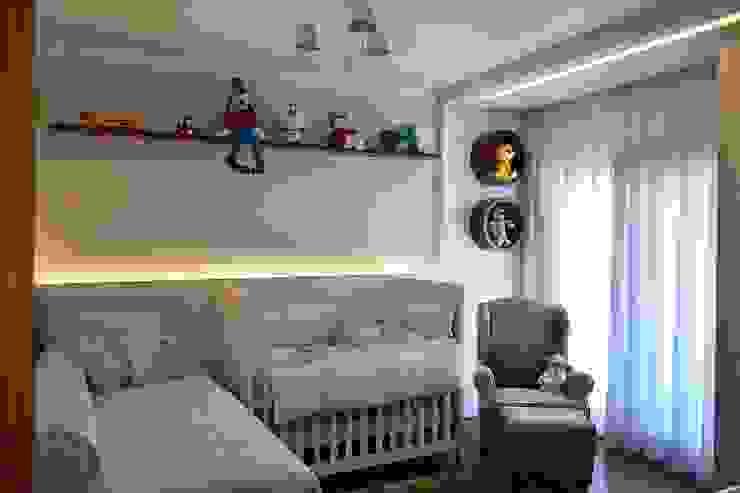 Dormitório Infantil Join Arquitetura e Interiores Quarto infantil moderno