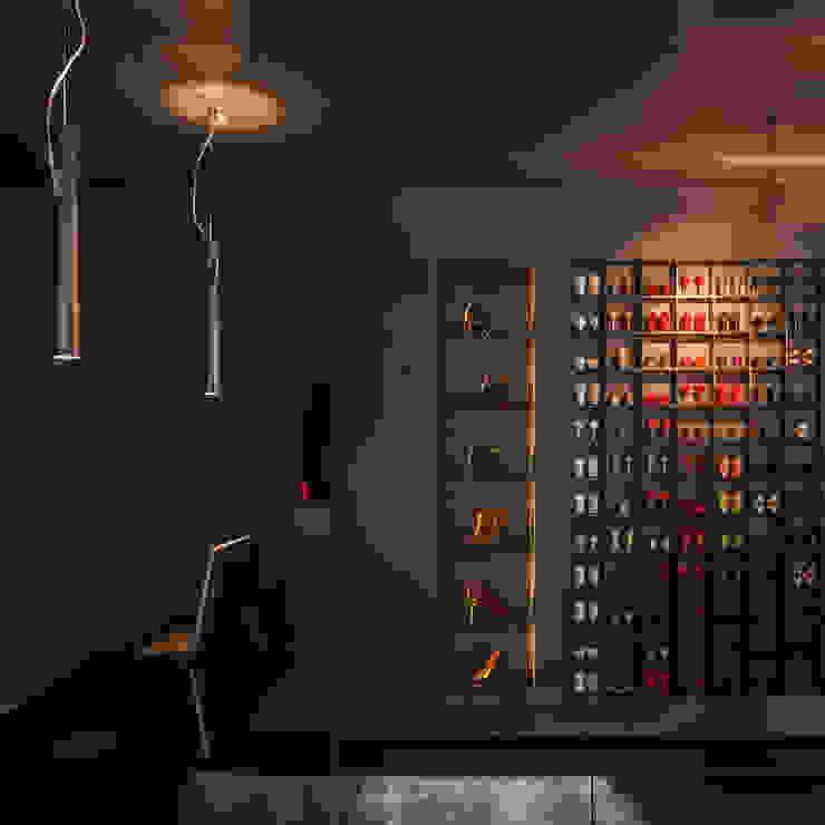 reception desk at TANYA HEATH shop by INAIN Interior Design Modern