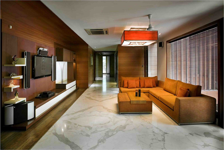 B24 Modern living room by Saka Studio Modern