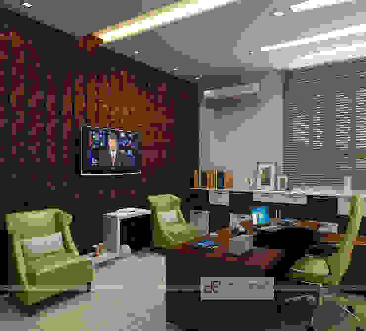 PKS Office Noida Sec-63 Design Essentials Modern offices & stores