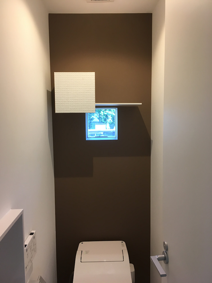 8gi・studio Modern Windows and Doors Tiles Brown