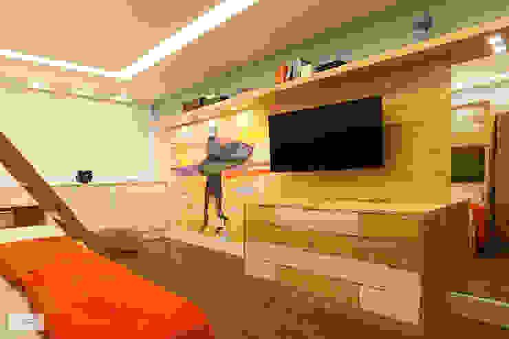 Quarto Jovem Quartos tropicais por Studio Prima Arq & Design Tropical