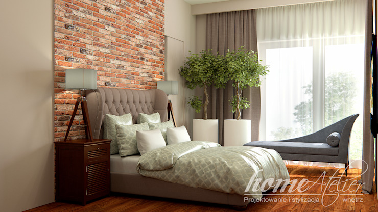 Colonial style bedroom by Home Atelier Colonial