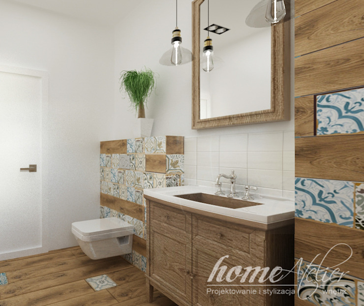 Colonial style bathroom by Home Atelier Colonial