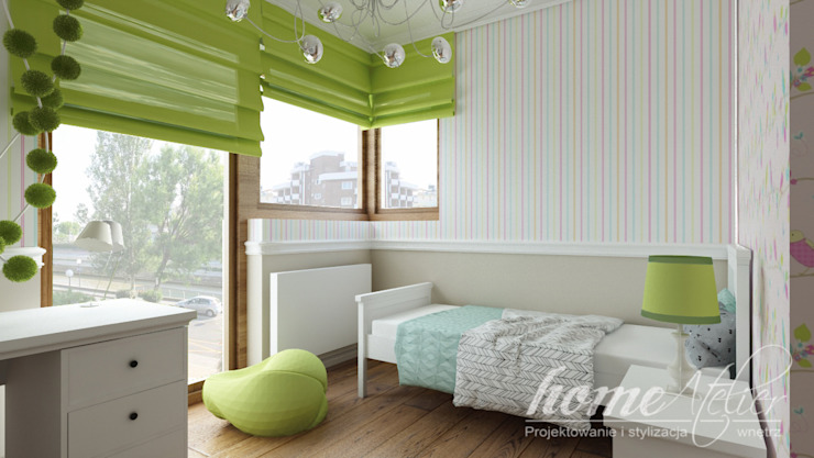 Colonial style nursery/kids room by Home Atelier Colonial