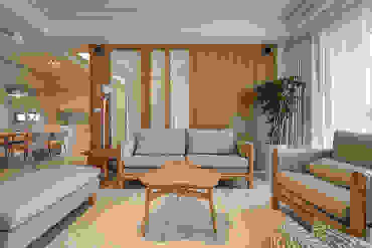 沙發背牆 根據 存果空間設計有限公司 北歐風