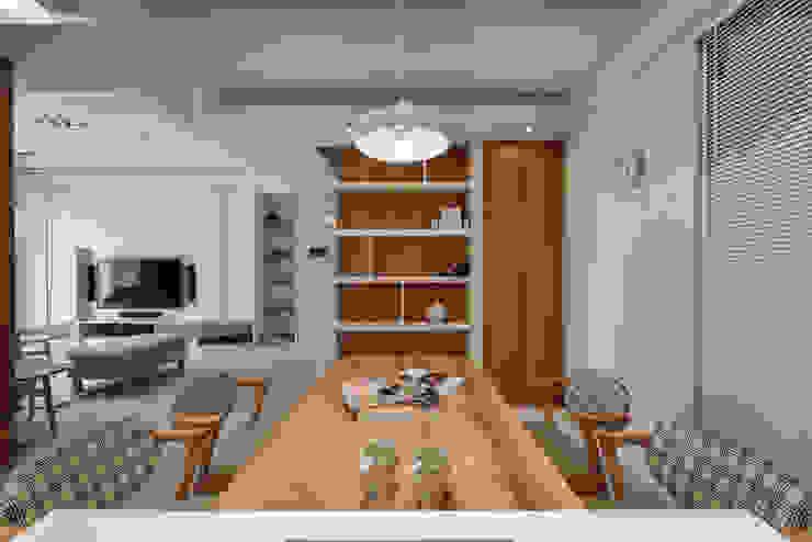 餐廳 Scandinavian style dining room by 存果空間設計有限公司 Scandinavian