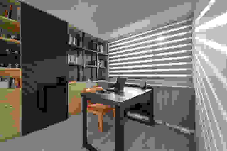 書房 根據 存果空間設計有限公司 隨意取材風